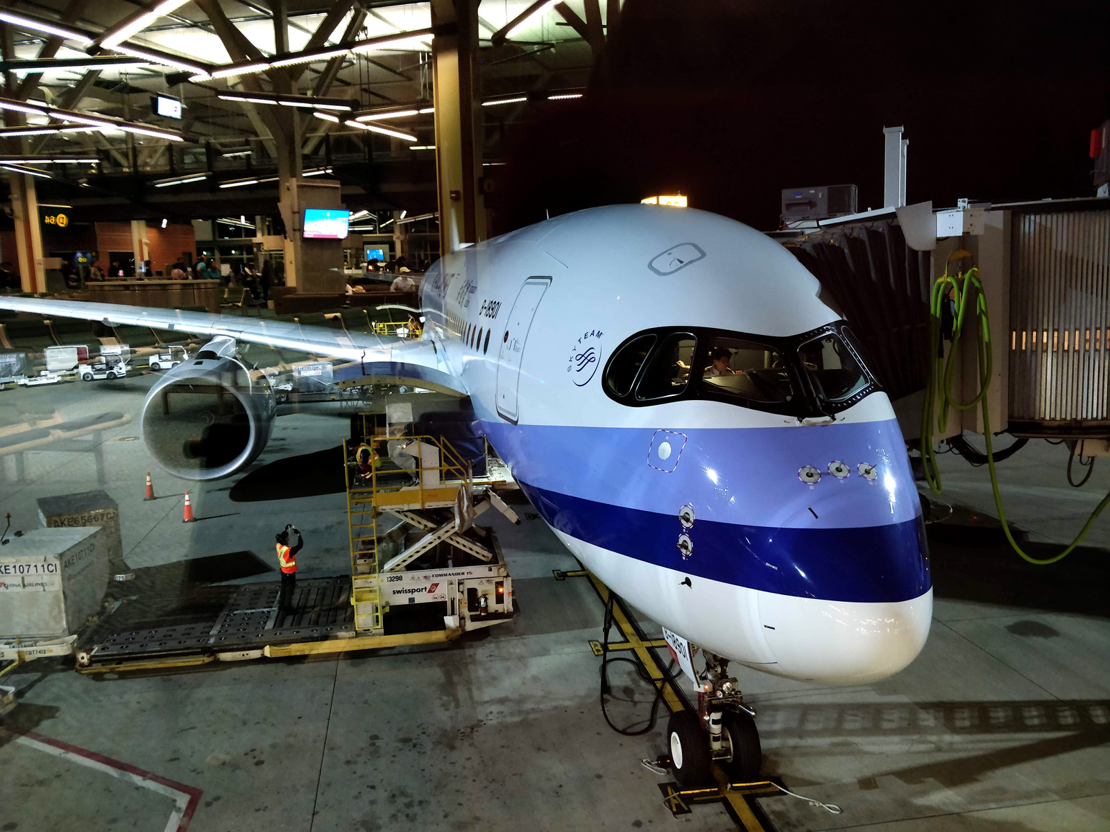 The Long Way to Auckland, on China Airlines' A350